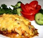 Тилаппия (рыба) запечённая с овощами.