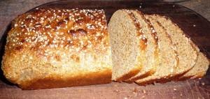 хлеб из молотых отрубей с мукой1