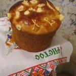 Сырная пасха с молотым миндалeм – кулинарный рецепт