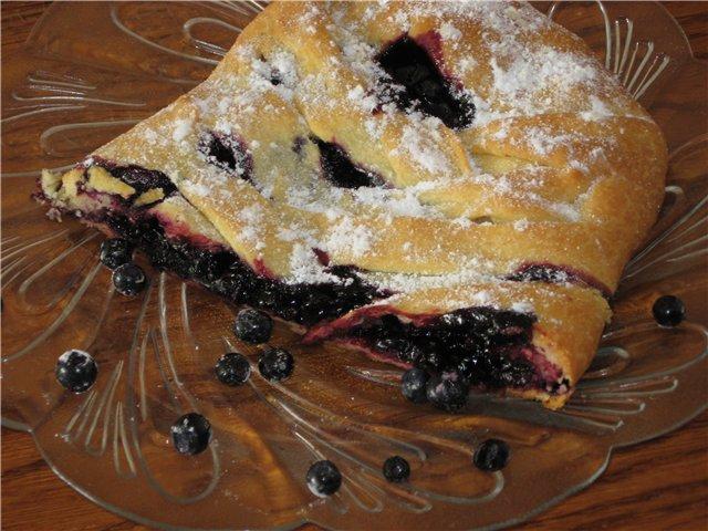 торт из печенья савоярди с черникой рецепты с фото