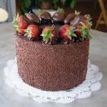 торт Клубничный рай