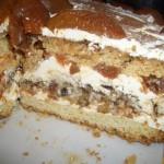 торт Орехово-песочный