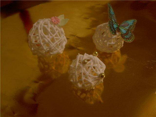 Сахарные шарики мастер класс