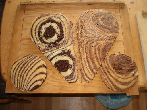 торт в виде женской груди пошаговый рецепт