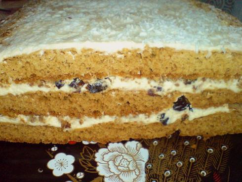 Торт фото трьохярусний
