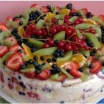 торт Фруктовый букет