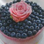 торт Сырный с ягодами