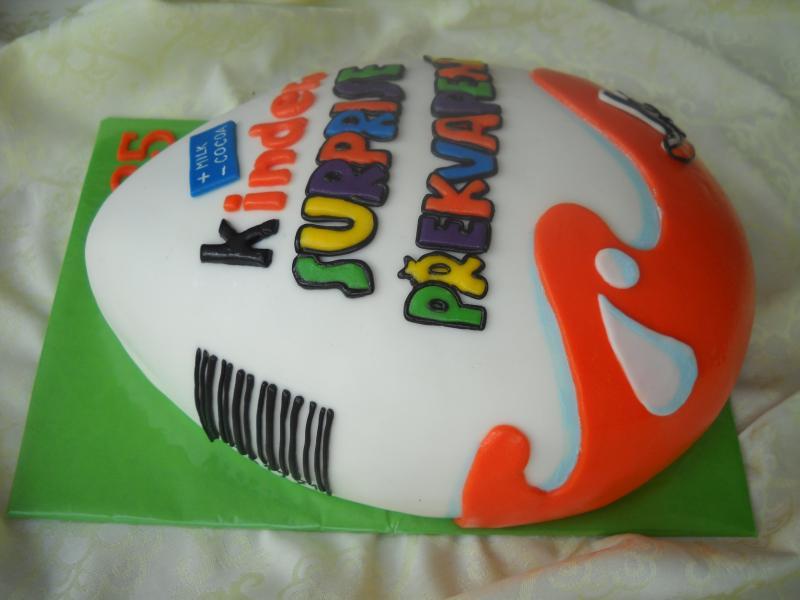 Торт в виде яйца мастер класс