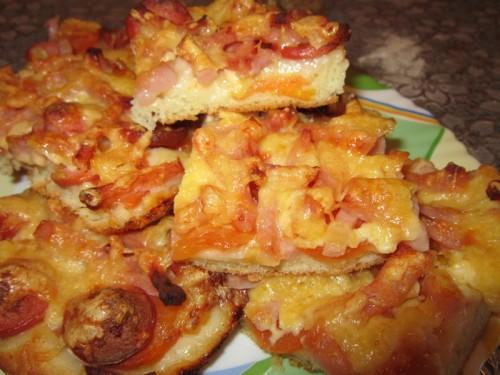 маленькие пиццы рецепт с фото пошагово
