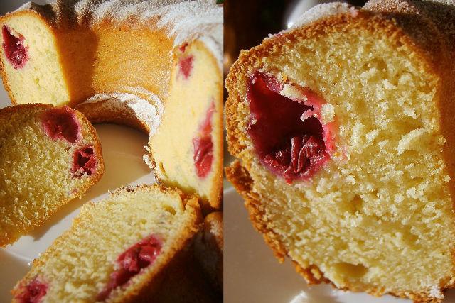 Как сделать кекс с вишней