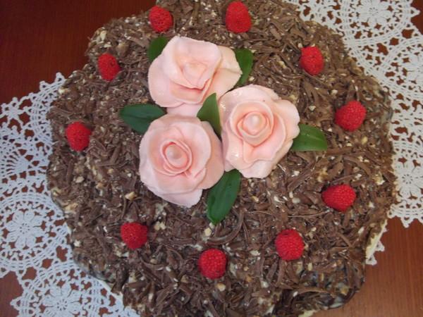 Шоколадный торт из зефира shokoladnyj tort iz