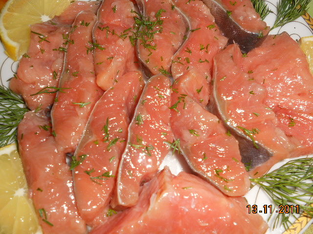 как засолить красную рыбу в рассоле в домашних условиях рецепт с фото