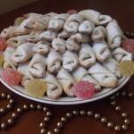 Творожного печенье с мармеладом