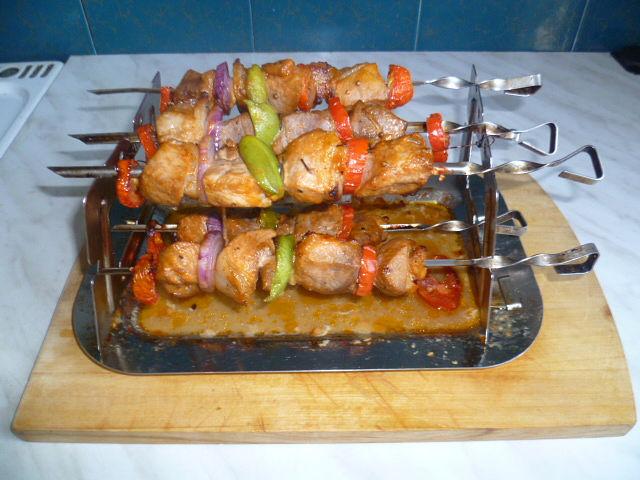 Шашлык свинина в духовке рецепты с фото