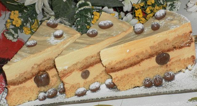 Карамельный торт рецепт видео
