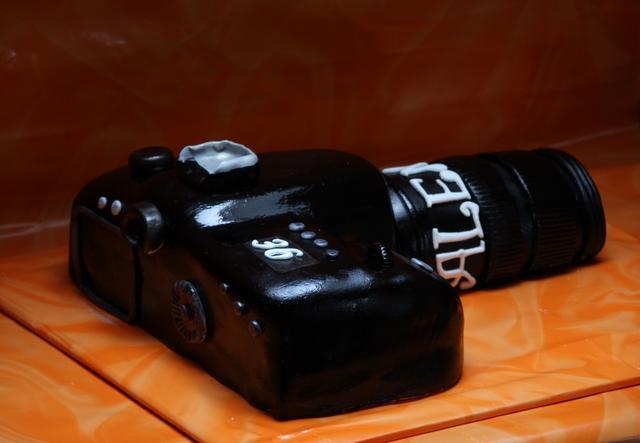 Торт фотоаппарат как сделать торт