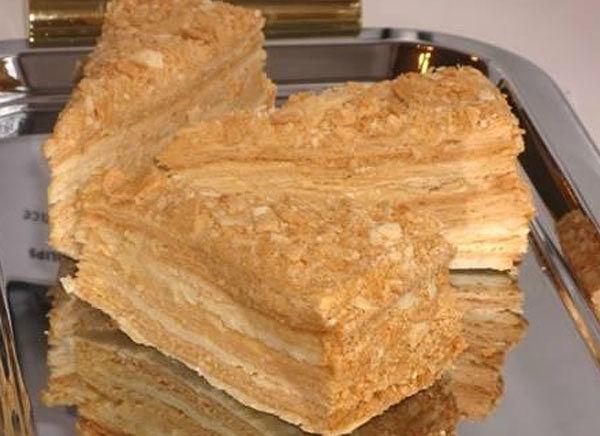 Торт наполеон на сковороде tort napoleon na