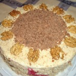 Творожный торт на сковороде2