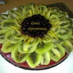 торт Лимонный с киви