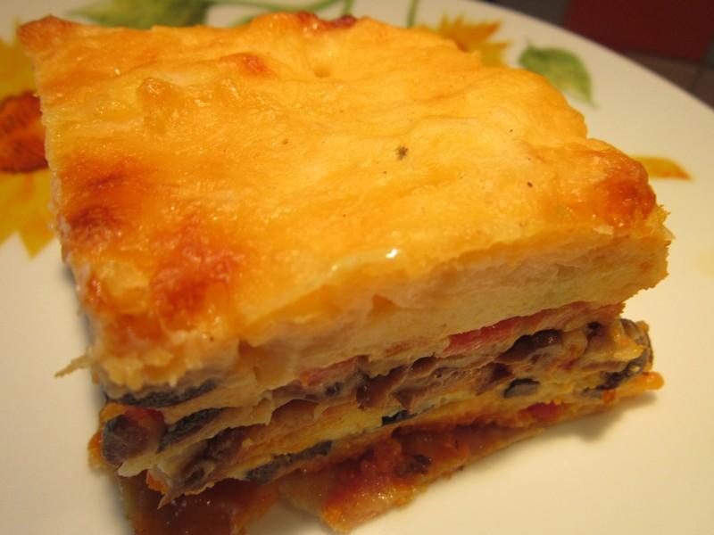 Рецепт: Ленивая лазанья из лаваша - все рецепты России