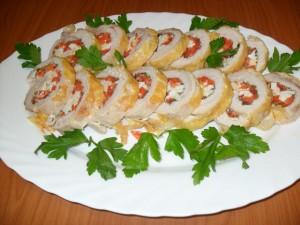 Котлеты из индейки с начинкой из печенки, пошаговый рецепт с фото