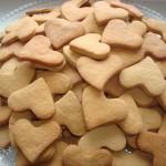 """медовое печенье """"Сердечки"""""""