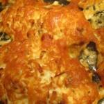 куриное филе с грибами запеченное в духовке
