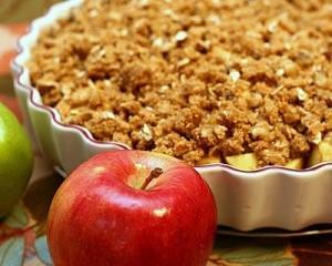 десерт хрустящее яблоко