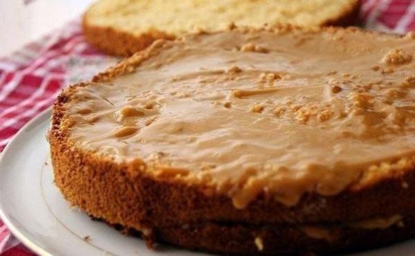 Медовый бисквитный торт рецепт с пошаговым с