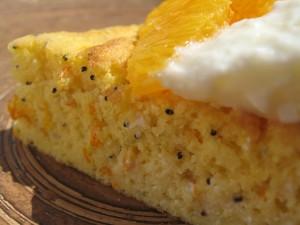 Orange Semolina Cake