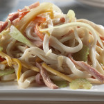 cheddar-cheese-and-ham-noodles