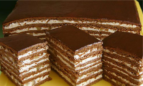 Торт шоколадный самый простой рецепт