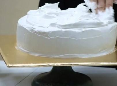 рецепт бисквита с масляным кремом украшенный мастикой
