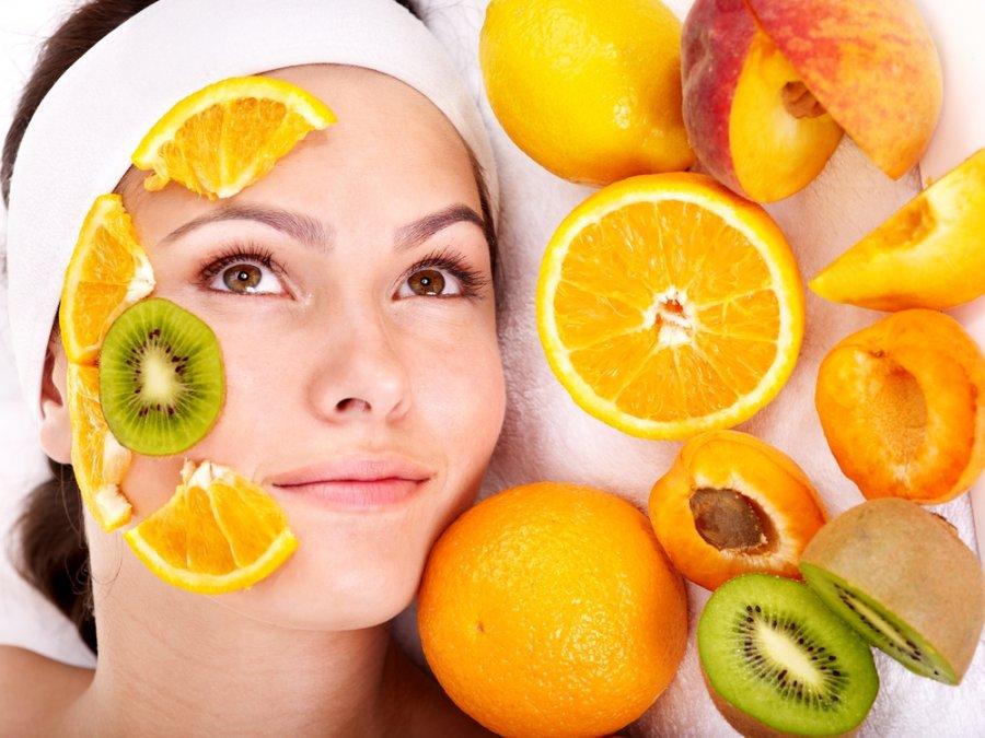 Маска для лица из фруктов