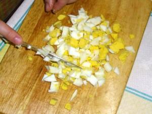 Салат из курицы с помидорами шаг 3