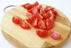 Салат из курицы с помидорами шаг 4