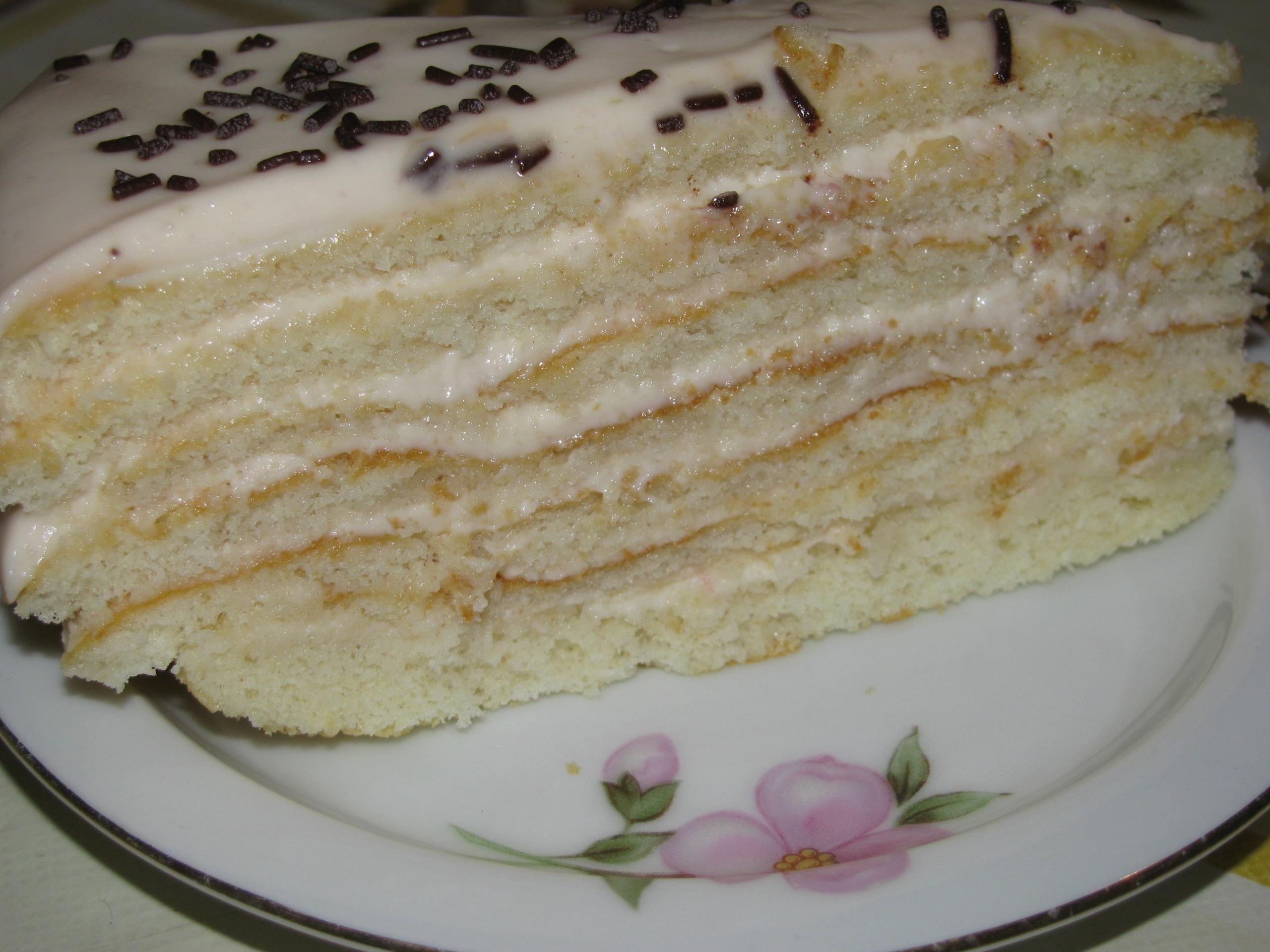 Торт молочная девочка пошаговый рецепт в домашних условиях 81