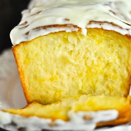 Пирог лимонный на кефире