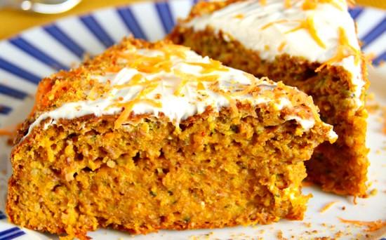 Морковный пирог рецепт пошагово с орехами