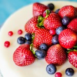 Нежнейший творожный мусс с ягодами