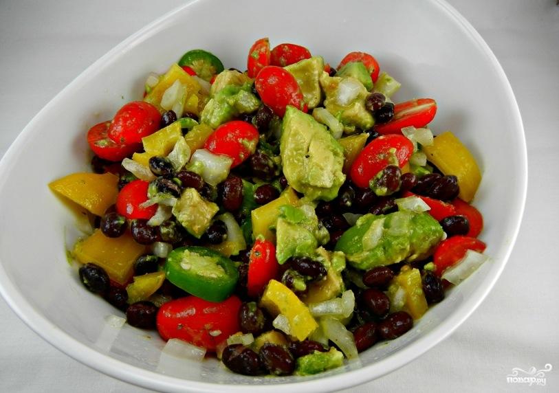 салат по техасски рецепт