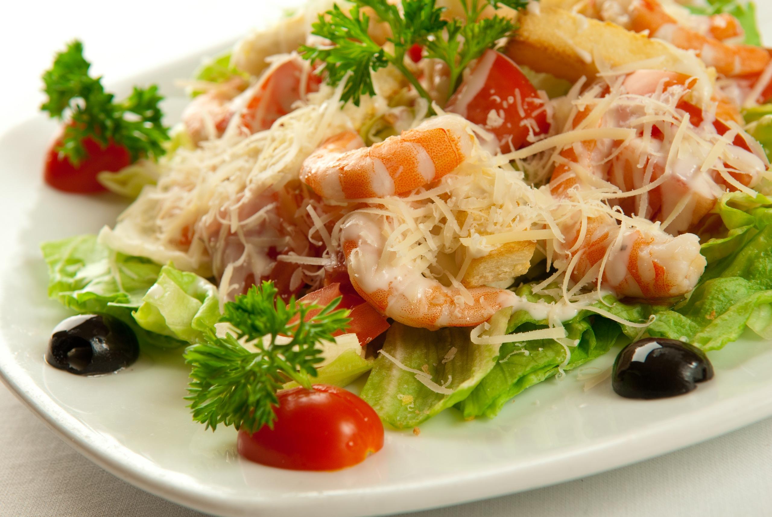фирменный морепродуктами Салат с