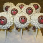 Новогодние конфеты своими руками «Овечки»