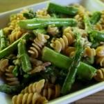 Макароны со спаржей – готовим полезное блюдо