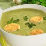 Летний холодный суп из кабачков