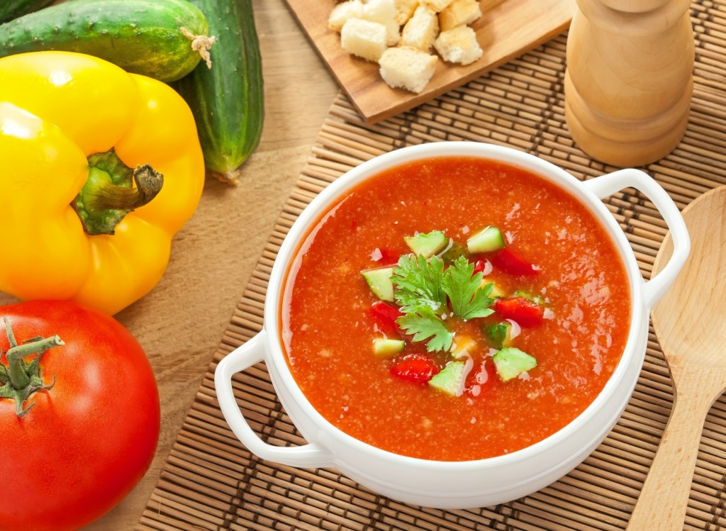 испанские холодные супы, оригинальный рецепт