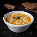 Крем-суп из моркови, сыра, имбиря – палитра ароматов и вкусов на вашем столе!