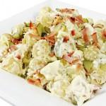 Картофельный салат с сыром и яйцами Деревенский