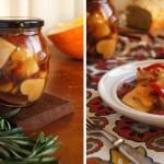 Заготовки на зиму – маринованная тыква с болгарским перцем