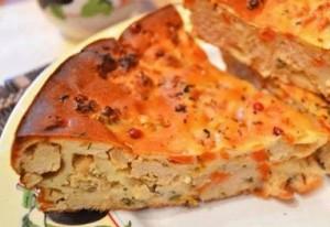 Морковный пирог с мясной начинкой – блюдо, которое вас удивит!